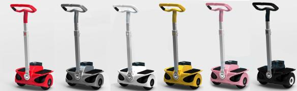 mini segway style personal transporter