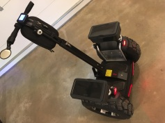 Black z1-d Plus segway